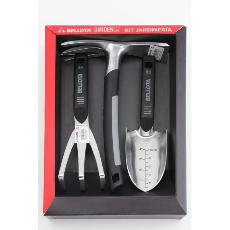 Kit de herramientas de jardín de aluminio Bellota