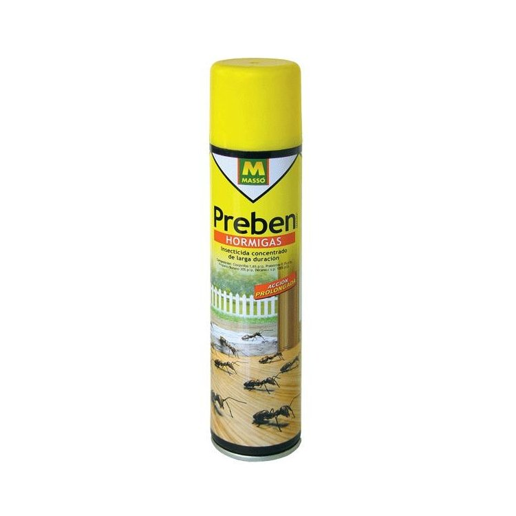 Insecticida antihormigas en spray Preben 300 ml.