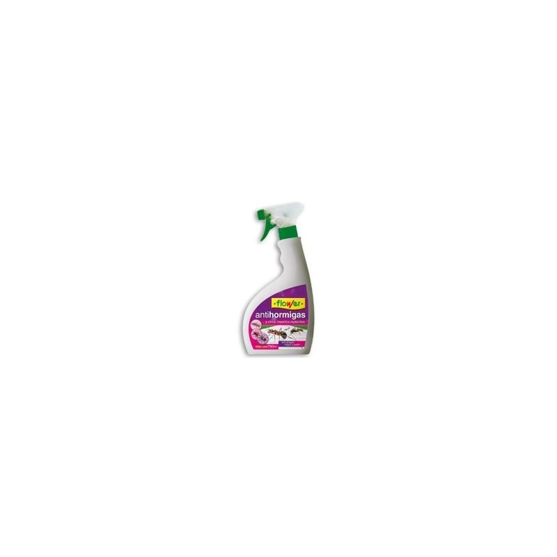 Insecticida antihormigas con pulverizador Listo Uso de Flower 750 ml.