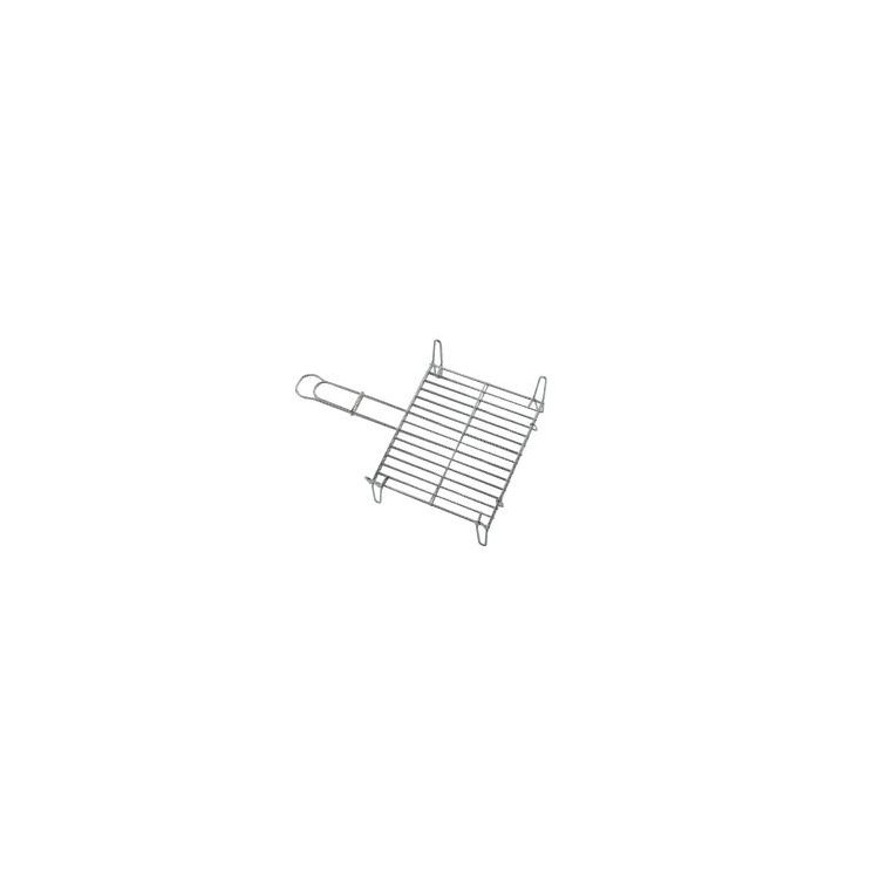 Parrilla doble esmaltada 35x40 cm.