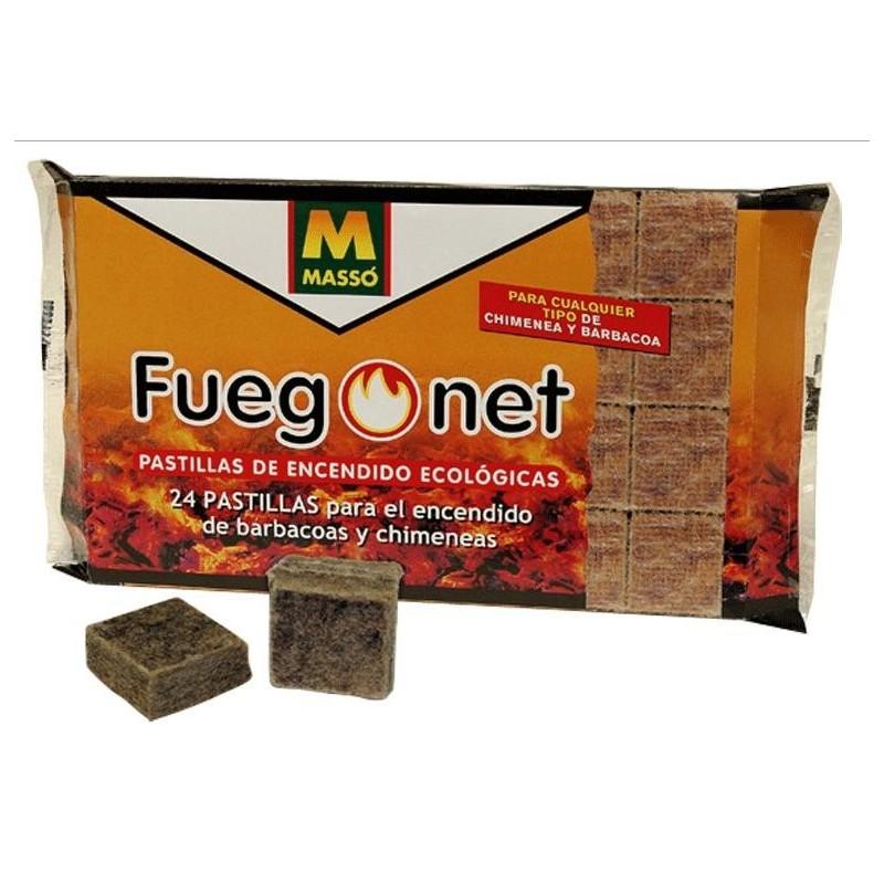 Pastillas de encendido ecológicas Fuegonet
