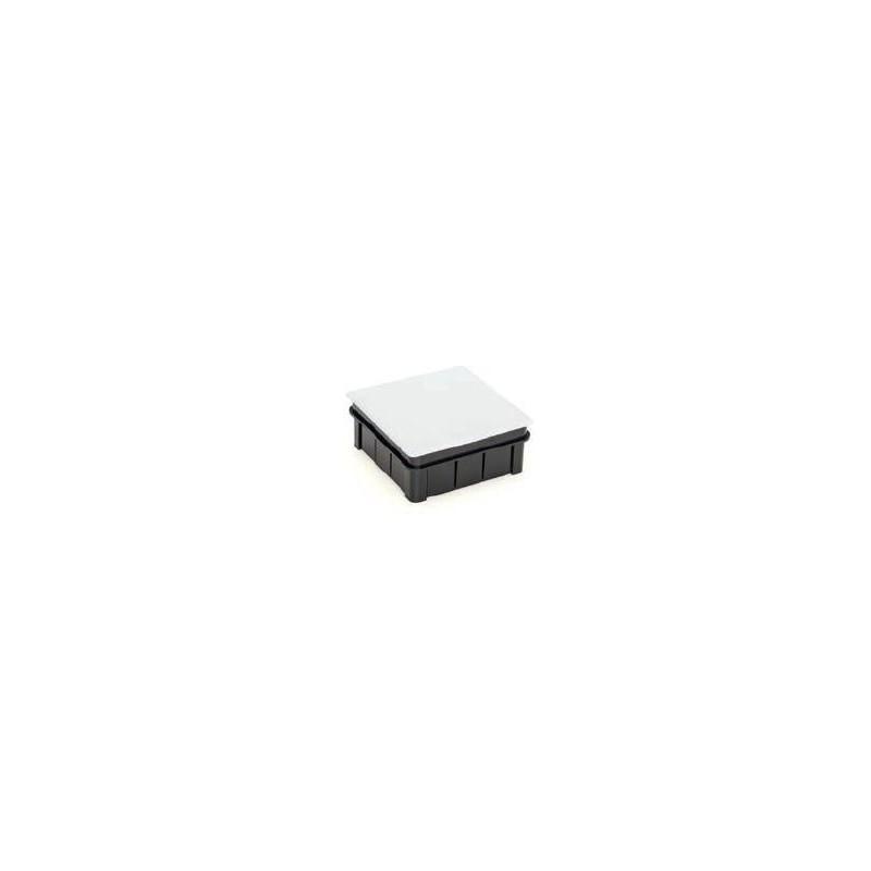 Caja de conexión para empotrar cuadrada con garra metálica 100x100x45