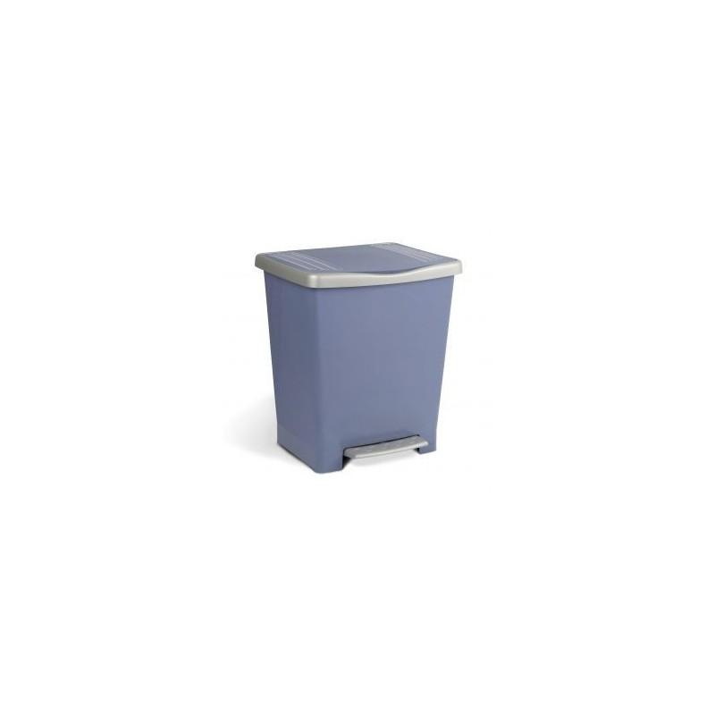 Cubo de basura con pedal Milenium 25 l.