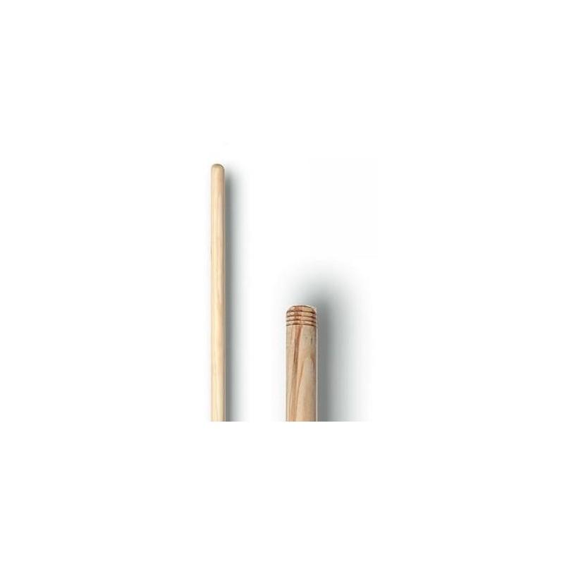 Mango de madera con rosca 1.20x28