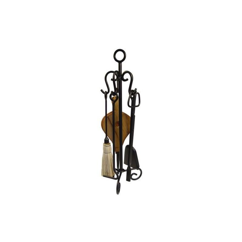 Juego de 5 accesorios de chimenea con argolla - Accesorios para chimeneas ...