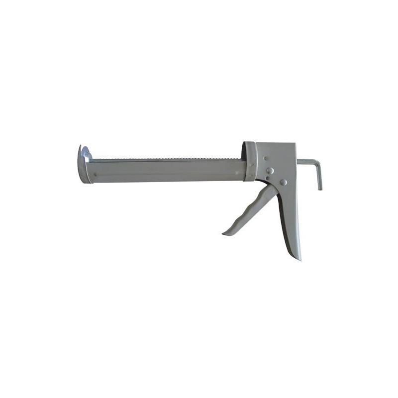 Pistola para aplicar silicona con cremallera reforzada