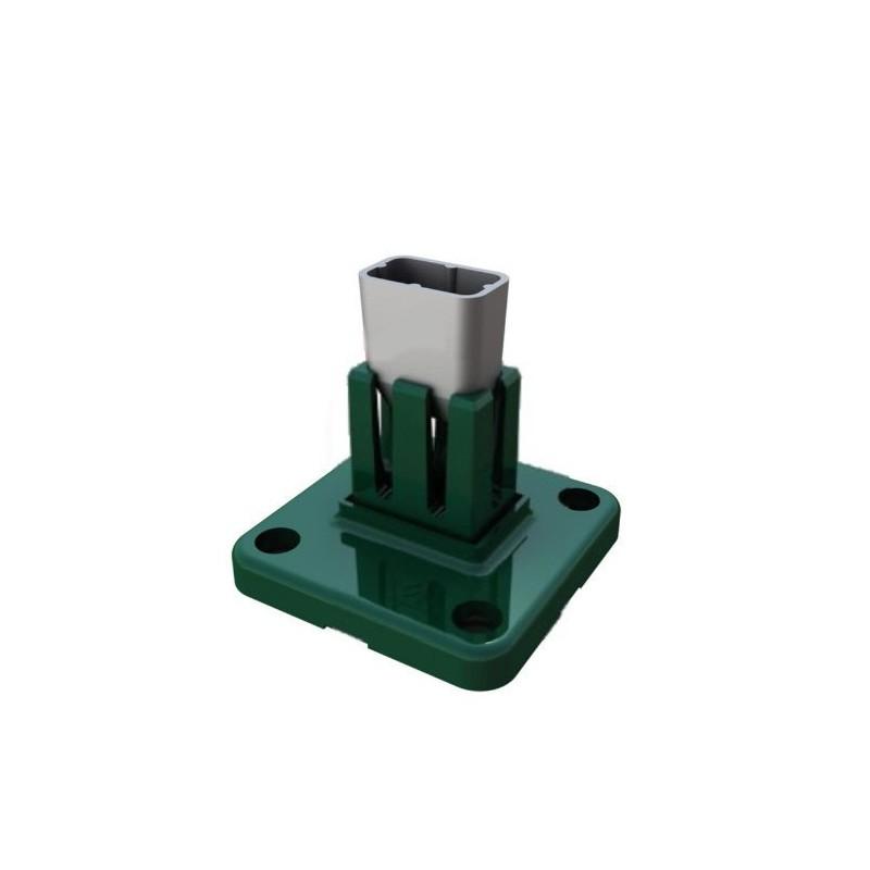 Base de aluminio para poste Hércules