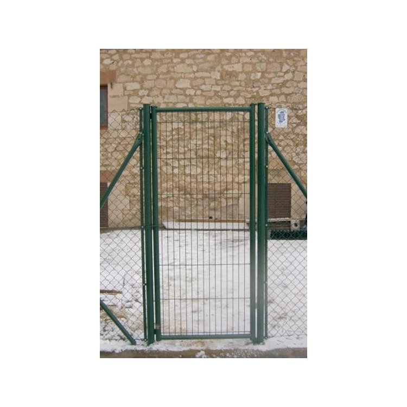 Puerta para cercado Serie Redonda galvanizada