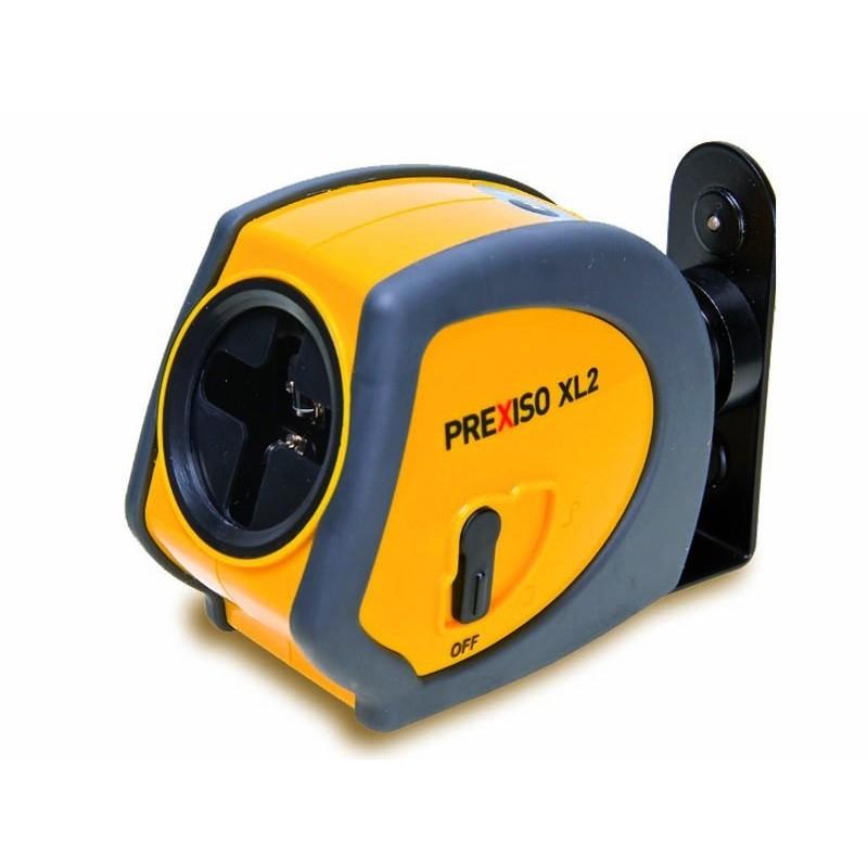 Nivel láser autonivelante Prexiso XL2 con 2 líneas de Leica