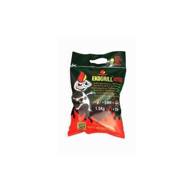 Bolsa de carbón vegetal Eko Grill Instant 1,5 kg