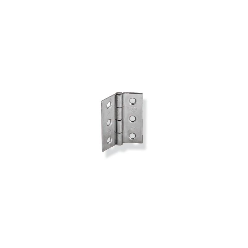 Bisagra pesante con pernio fijo Inox AISI 304
