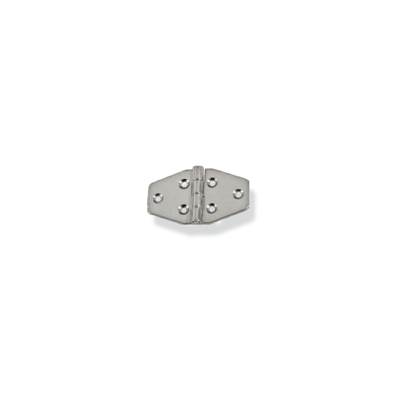 Bisagra trapezoidal Inox AISI 304