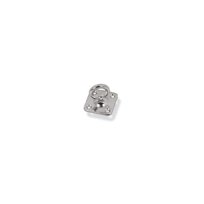 Anilla giratoria con placa Inox AISI 316