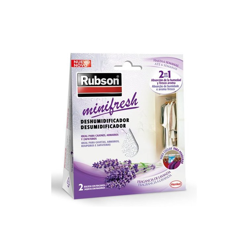 Deshumidificador Rubson Minifresh para armarios