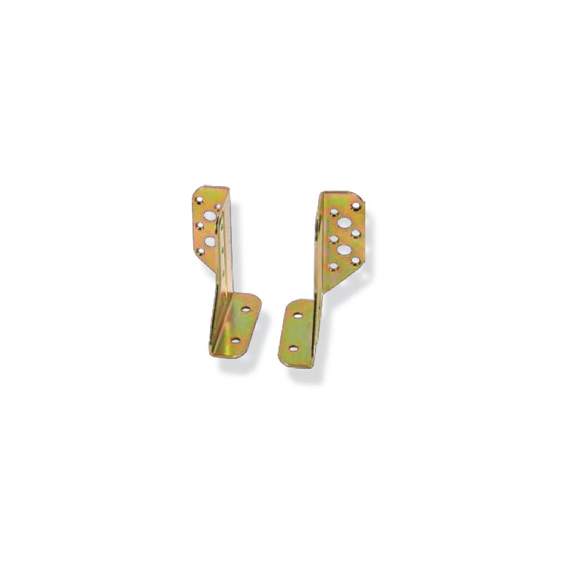 Par de juntas de soporte para vigas ajustable y con alas exteriores mod. 786