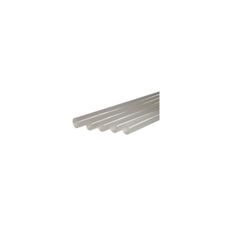 Blíster de 12 barras de cola termofusible transparente