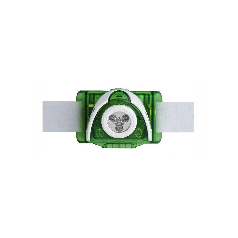 Linterna frontal Led Lenser SEO 3 Verde de 90 lúmenes