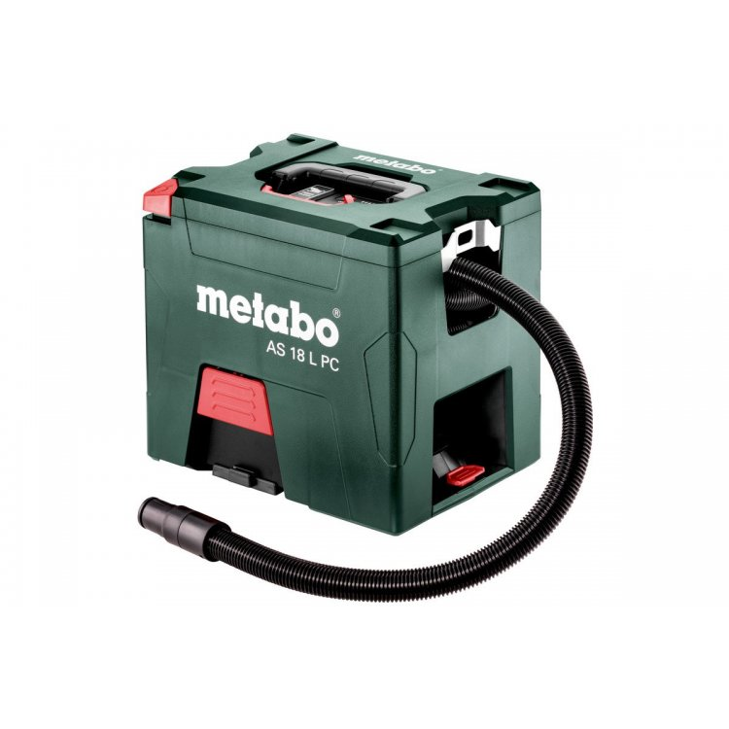 Aspirador de batería Metabo AS 18 L PC