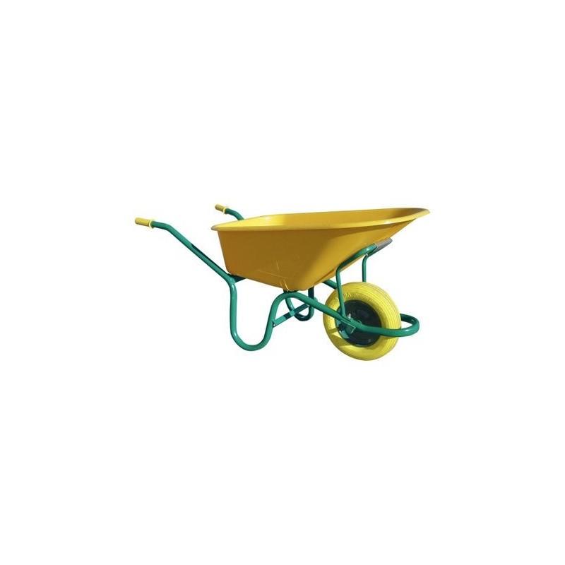 Carretilla de jardín con bandeja de nylon Theca C1-570.