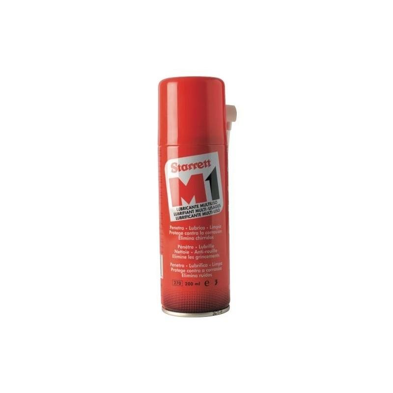 Aceite lubricante multiuso en spray M1 Starrett