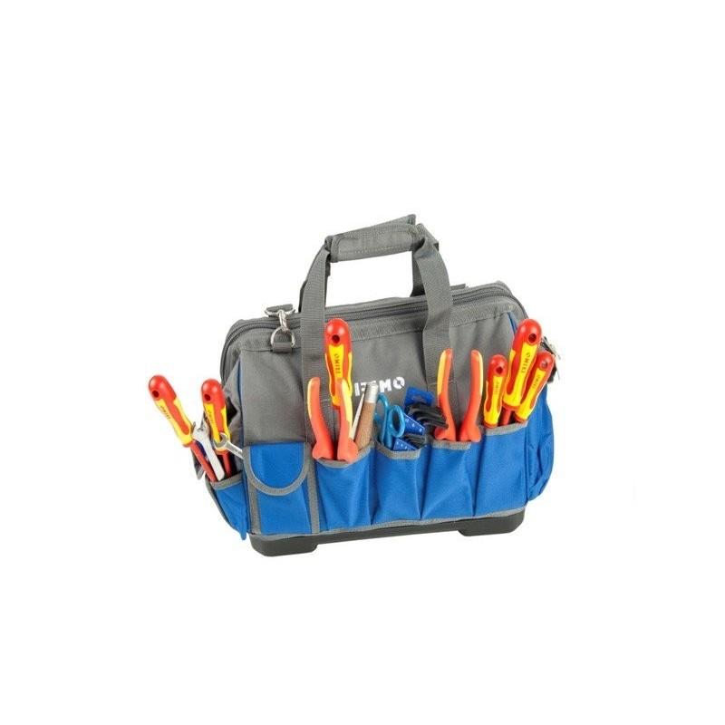 Bolsa de herramientas Irimo con 48 herramientas.