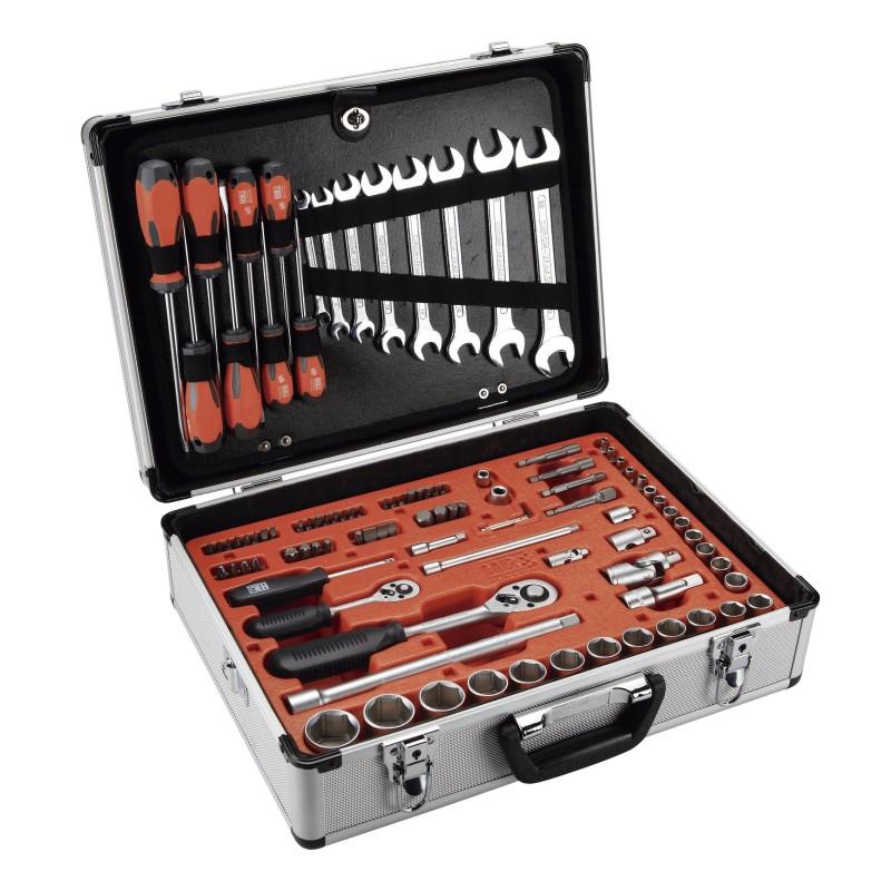 Maleta de aluminio con 120 herramientas HR Alyco