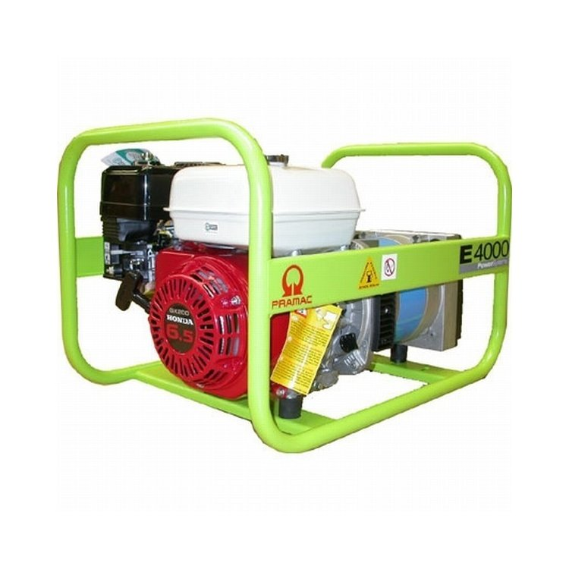 Generador Pramac E4000 SHHPI con motor Honda GX200