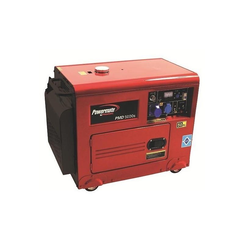 Generador diesel powermate pmd5000s venta online de for Generador arranque automatico