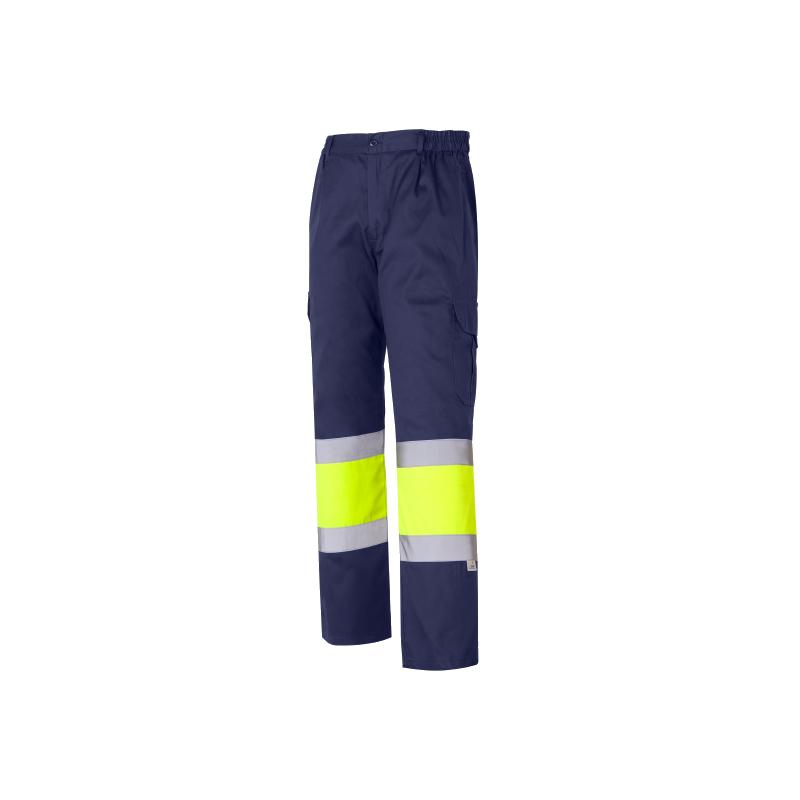 Pantalón multibolsillo combinado de Alta Visibilidad 1061