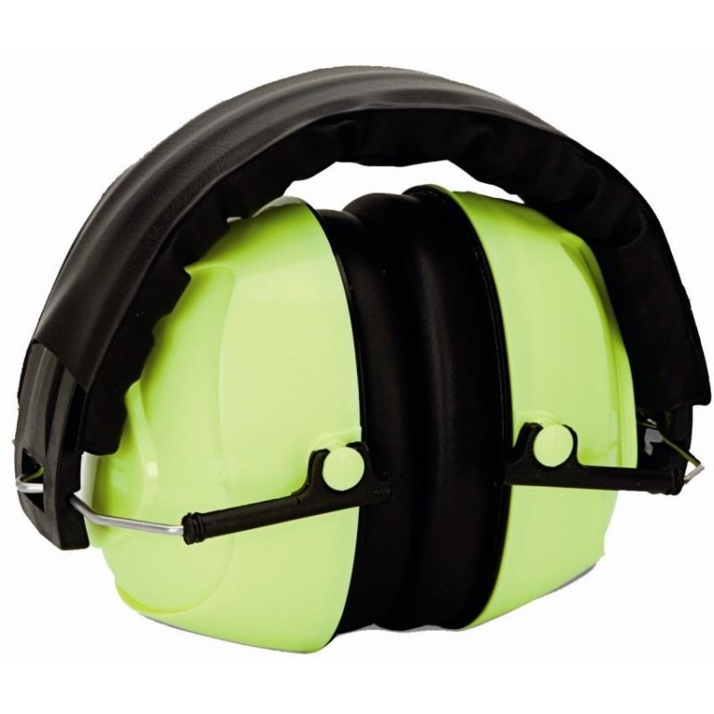 Orejeras protectoras de oídos de Alta Visibilidad Climax 12