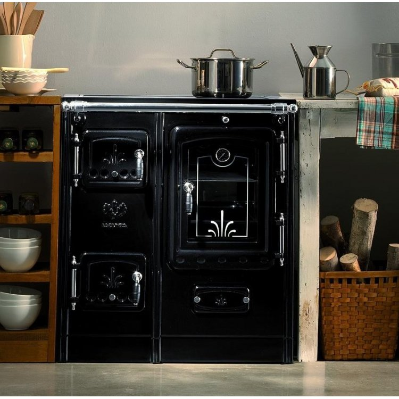 Cocina de leña abierta LIS-7 de Lacunza