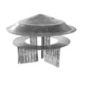 Sombrerete para estufa galvanizado Theca