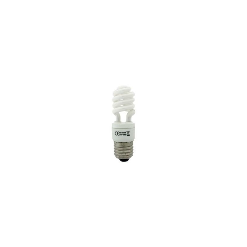 Bombilla de bajo consumo pulga con tubo espiral de 9W