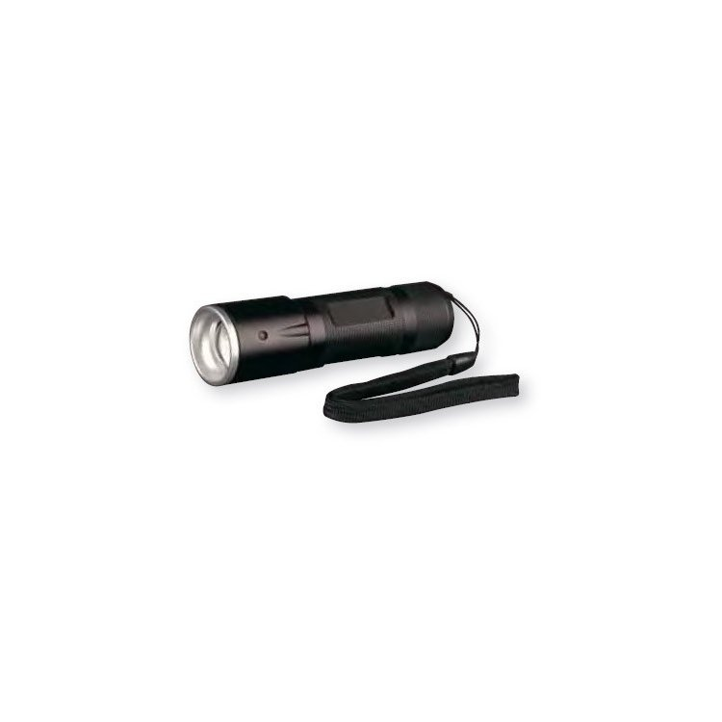 Linterna Led de aluminio con 4 intensidades