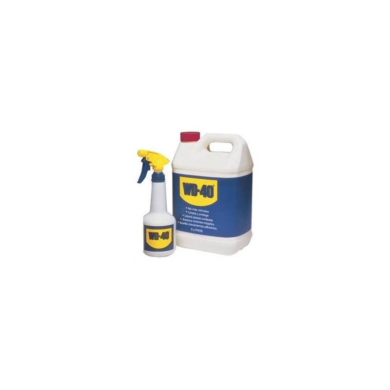 Aceite lubricante WD-40 5 litros + Pulverizador