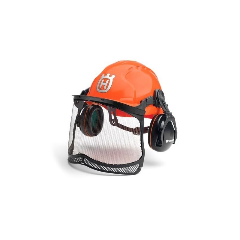 Kit Forestal Classic con casco, orejeras y pantalla