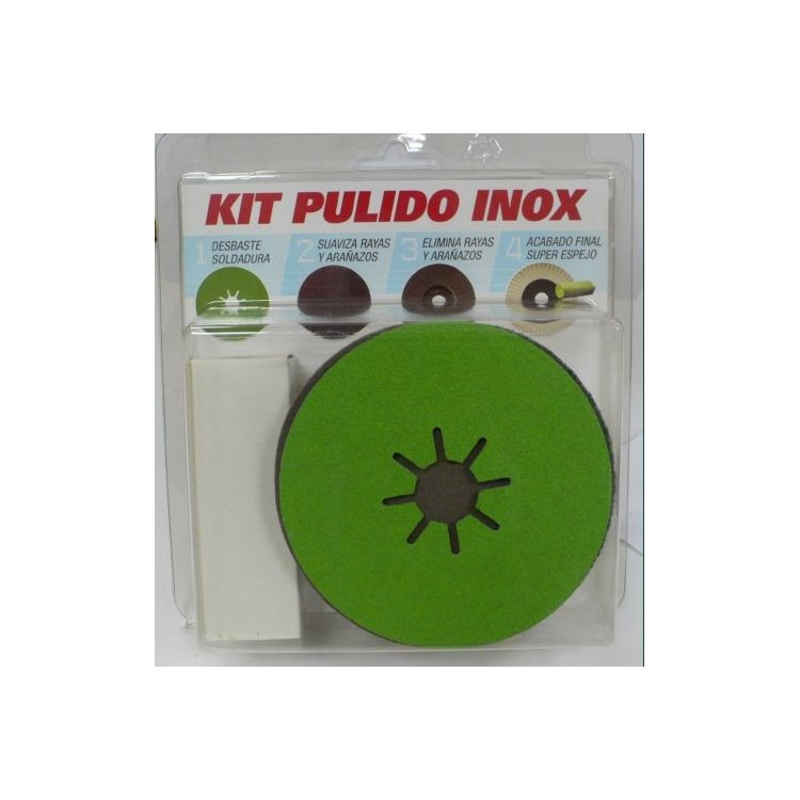 Kit de pulido para Inox