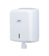 Dispensador de papel mecha secamanos Smart ABS Blanco
