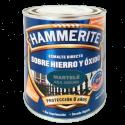 Esmalte directo sobre hierro y óxido martelé azul oscuro 0.75 L