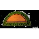 Felpudo de coco modelo Otoño media luna 40x70