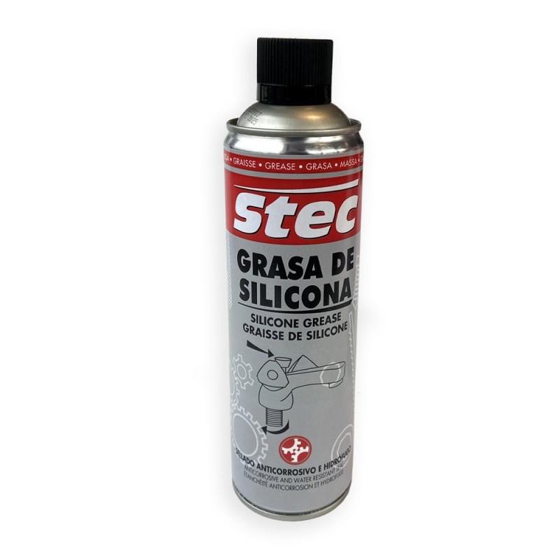 Grasa de silicona en spray Stec. 500 ml.