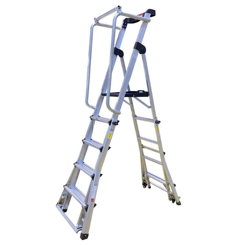 Escalera Plataforma TSL 8 Peldaños Gayner