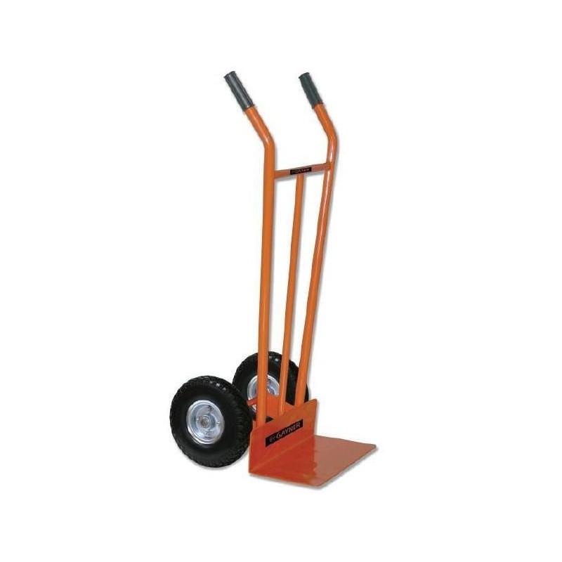 Carretilla de almacén con rueda impinchable