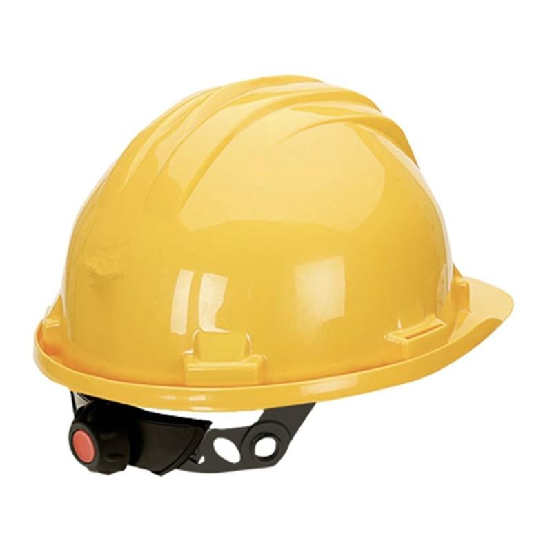 Casco de Obra con Rosca Climax 5-RG 2 Colores