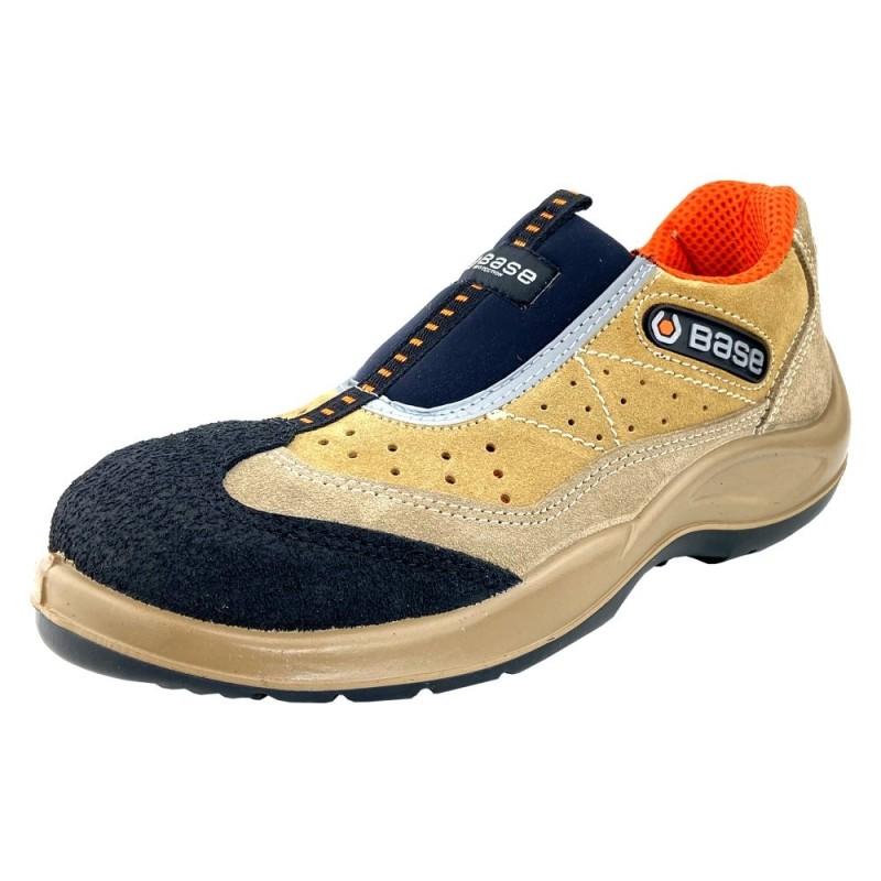 Zapato de Seguridad Base B0451 Arena S1P SRC