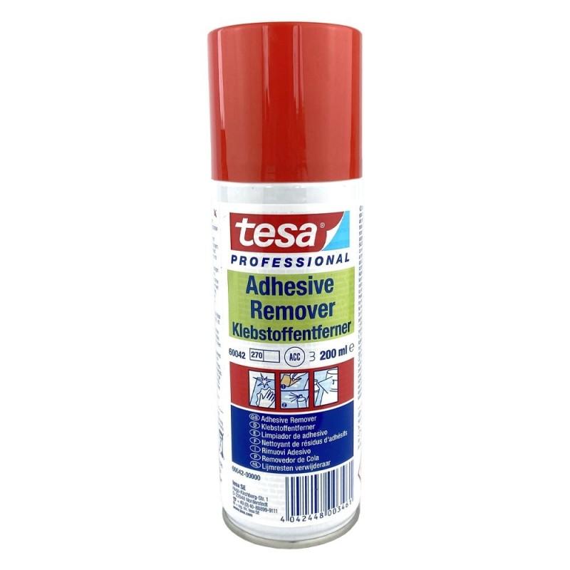 Limpiador de adhesivos en spray