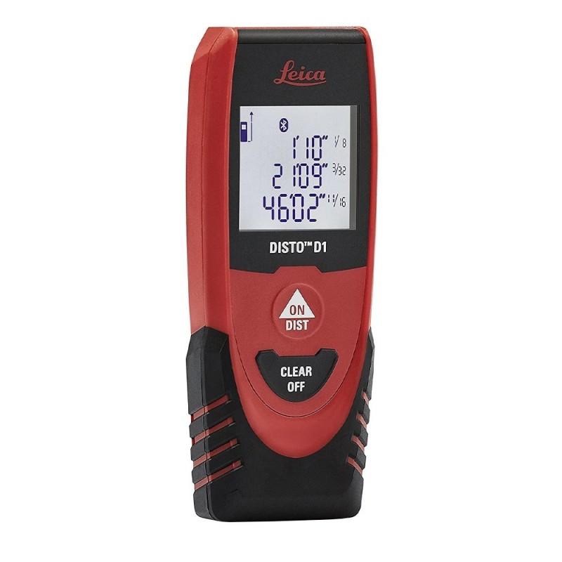 Distanciómetro Láser Disto D1 40 m. con Bluetooth de Leica