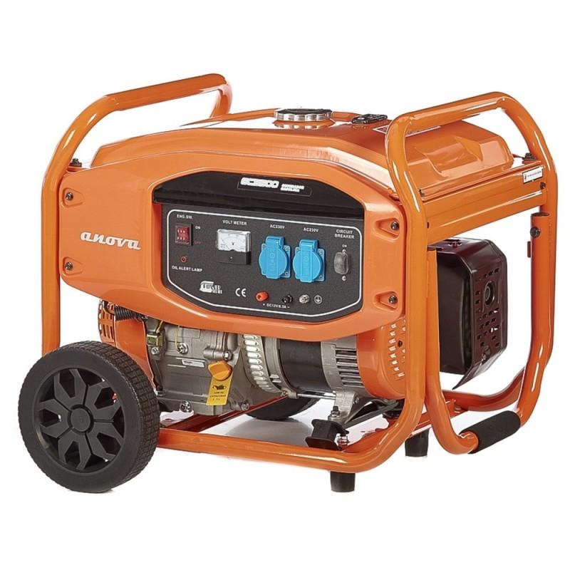 Generador Monofásico Anova GC3500 3500W 277CC Millasur
