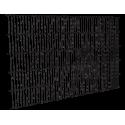 Panel de malla electrosoldada pre-galvanizada 1,5 metros.