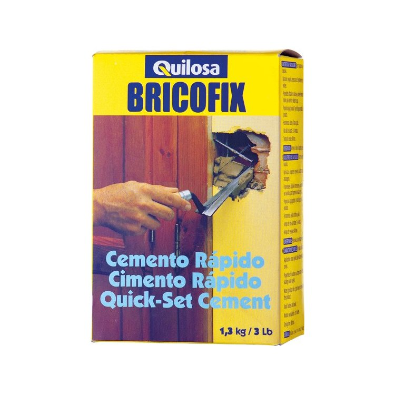 Cemento rápido Bricofix